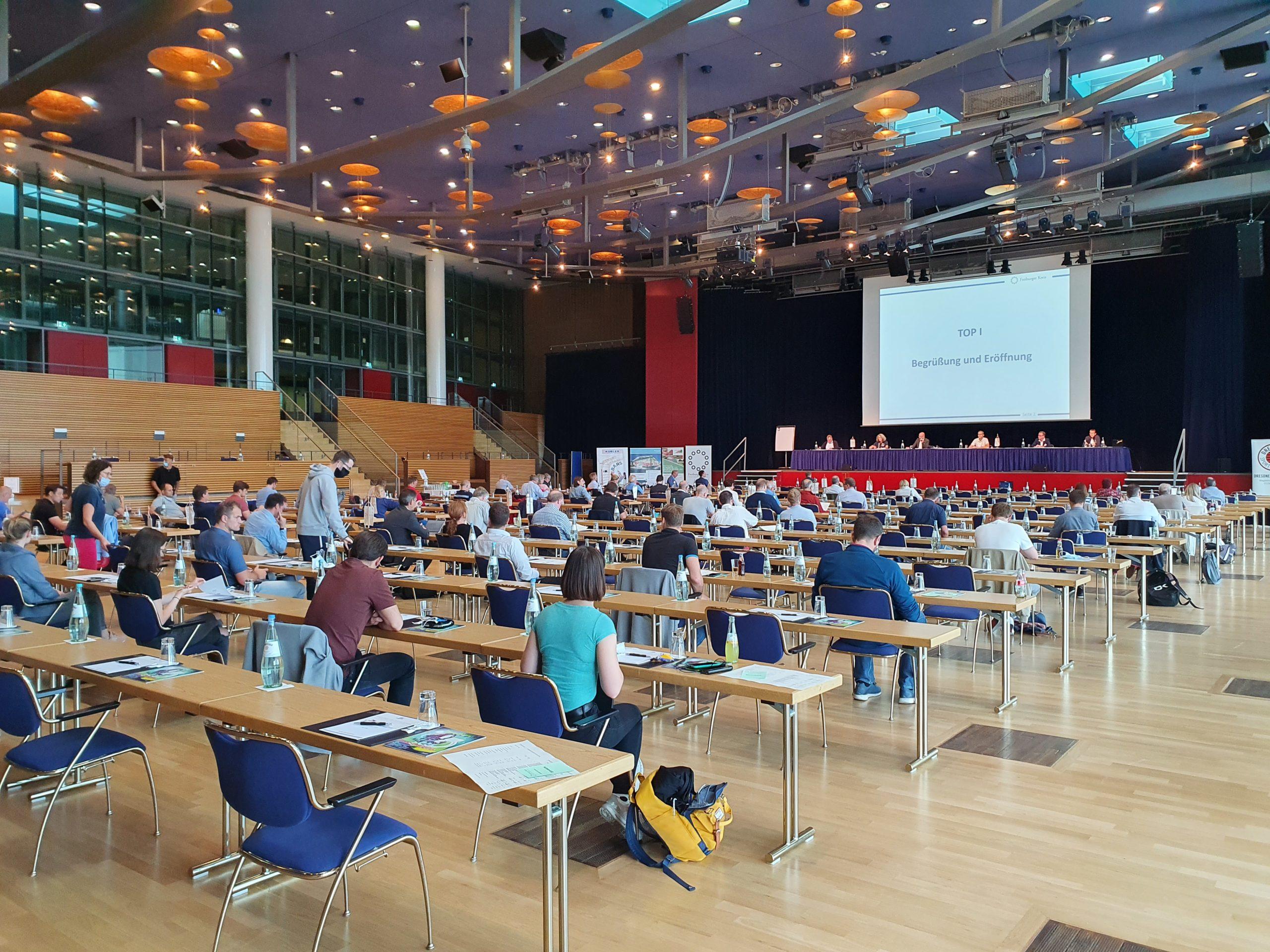 Plenarsaal Herbsteminar 2020 Dresden